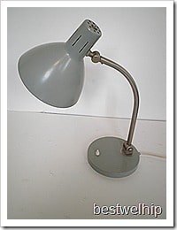 Vintage Hala bureaulamp, desk lamp '60s
