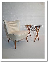 Club fauteuil / Cocktail chair fifties