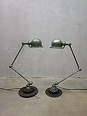 Original Jielde industrial vintage design desk lamp France, Jielde lamp industrieel vintage loft