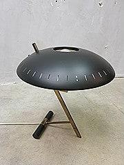 Mid century vintage design desk Lamp Louis Kalff voor Philips First Edition