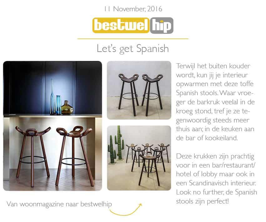 vintage design midcentury spanish stools