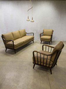 Walter Knoll Antimott mid century design loungeset