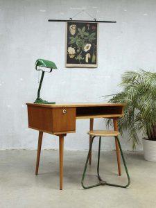Dutch vintage desk 'minimalism', vintage bureau