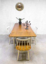 Vintage bars chairs Ilmari Tapiovaara Fanett dinnerset