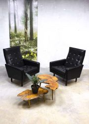 Fifties mid century lounge chairs Mad men style