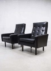Fifties mid century lounge chairs 'rock a billy'
