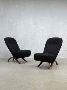 Artifort Congo lounge fauteuils chairs Theo Ruth