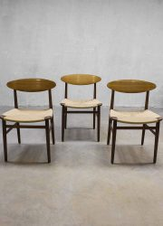 Børge Mogensen vintage dinner chairs Deense eetkamerstoelen