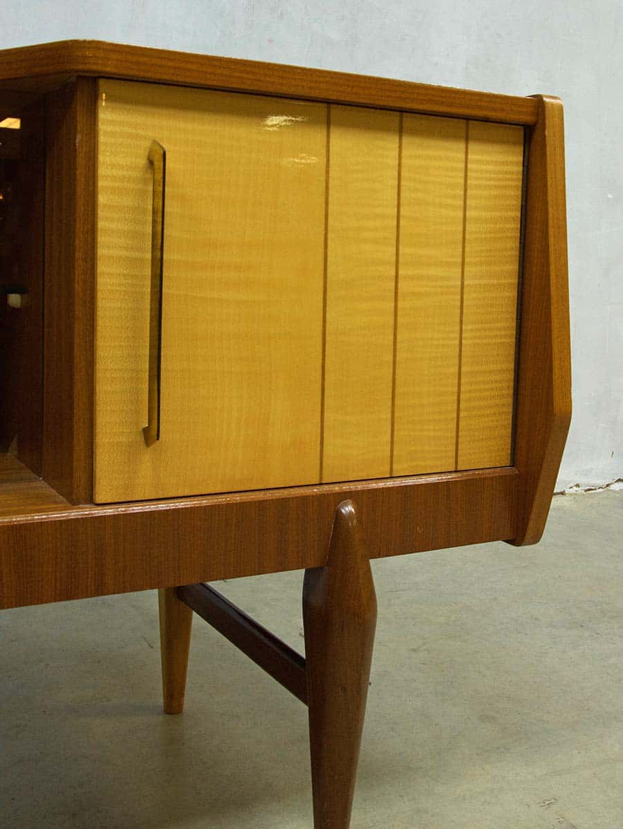 Danish Dressoir Wandkast Tv Kast Jaren 50 Danish Wall Cabinet