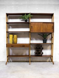 Vintage design wall unit Simpla lux modulair wandsysteem