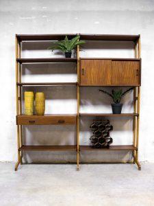Vintage design wall unit Simpla lux modulair wandsysteem