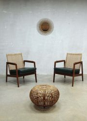 Muntendam mid century design armchair, Muntendam vintage design fauteuil