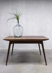 Webe vintage design dining table dinner table Louis van Teeffelen eetkamertafel