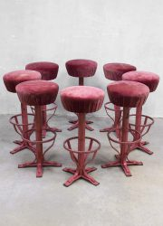 vintage bar stool Industrial, barkruk krukken industrieel vintage
