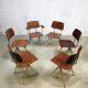 Galvanitas S16 Industrial vintage chairs schoolstoelen