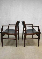 Hulmefa vintage dinner chairs armchair eetkamerstoel stoelen