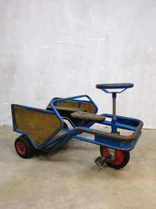 Vintage kinder auto driewieler skelter decorative kids car tricycle
