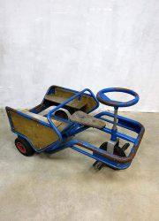 vintage retro bracante antieke skelter car