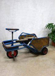 Vintage kinder auto driewieler skelter decorative kids car tricycle