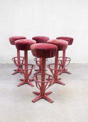 vintage kruk krukken barkruk, vintage bar stool Industrial