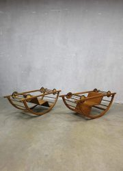 Hans Brockhage kids car rocking chair