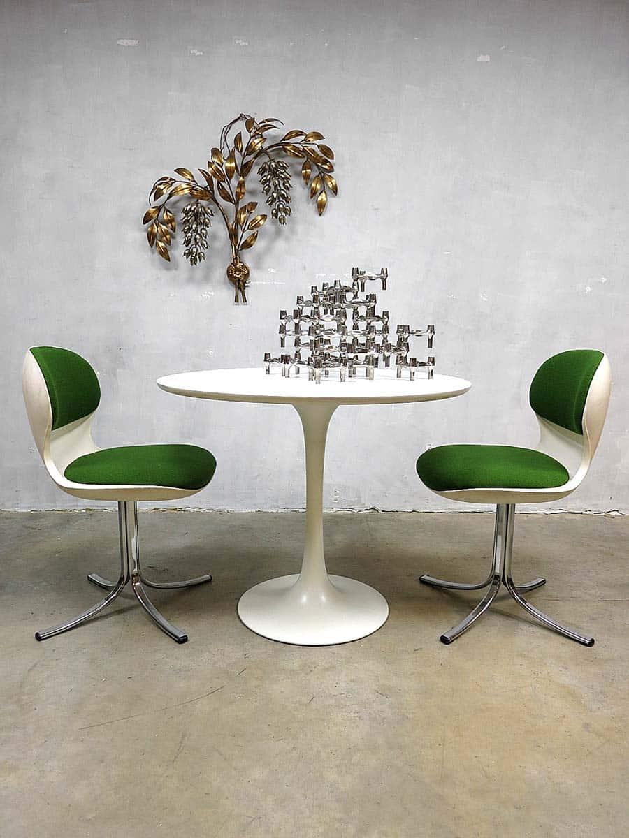 Vintage Design Swivel Chair Nr 7105 Stoll Giroflex
