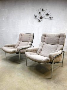 Osaka vintage easy chairs Martin Visser Expo 1970 Japan 't Spectrum