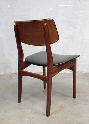vintage design Danish dinner chair, vintage design deense eetkamerstoel