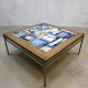 Vintage mozaïek salontafel, mid-century mosaic coffee table