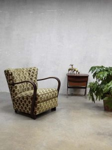Mid century design armchair Art Deco style