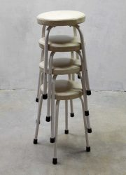 Vintage industriële krukken, vintage Industrial stools