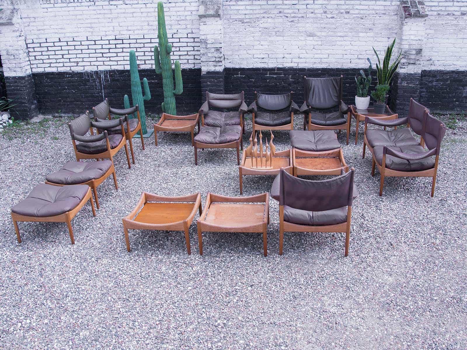 Modus living room set kristian vedel for s ren willadsen vintage zitgroep - Deco gezellige lounge ...