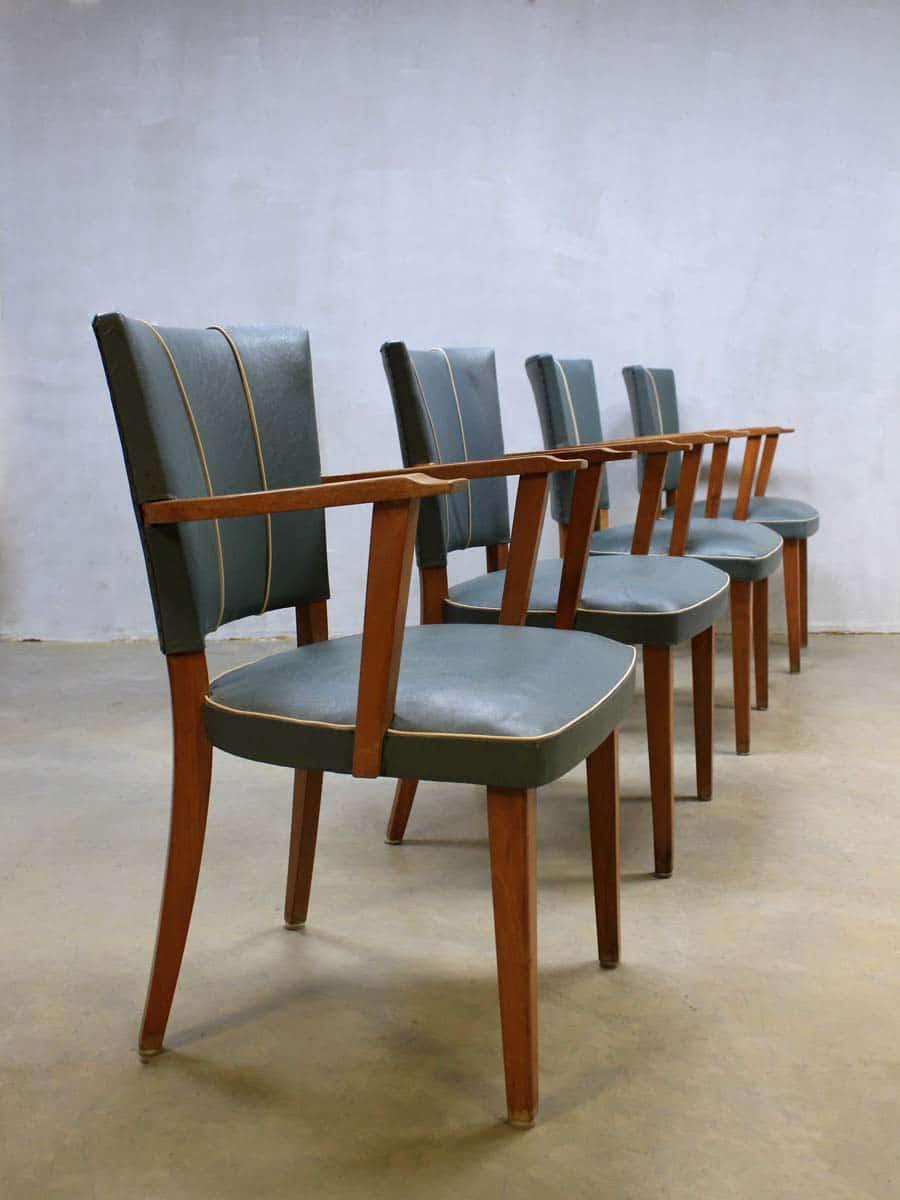 Pr Design Stoelen.Fifties Vintage Design Eetkamer Stoelen Vintage Retro Dinner Chairs