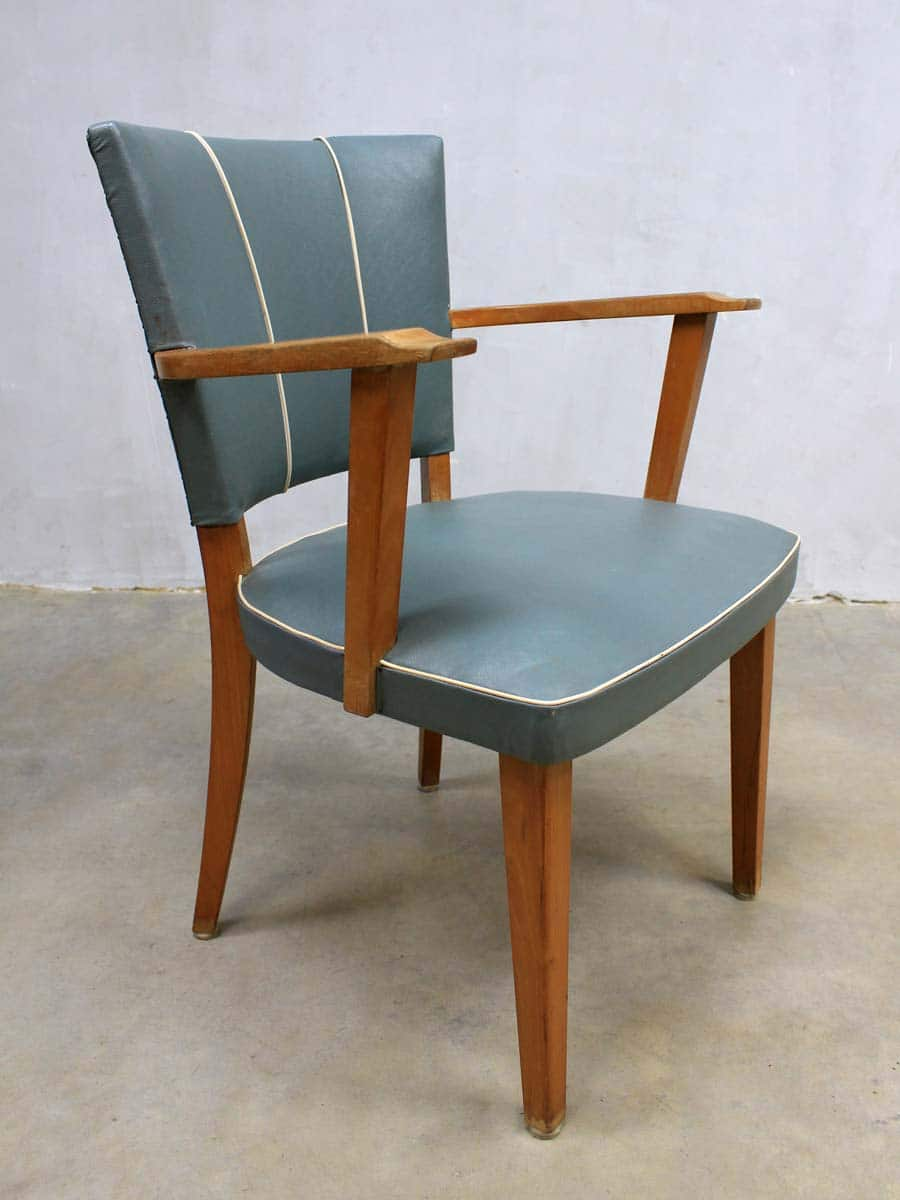 Eetkamer Stoel Retro.Fifties Vintage Design Eetkamer Stoelen Vintage Retro Dinner Chairs