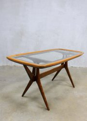 Cesare Lacca vintage design coffee table side table, vintage salontafel Cesare Lacca