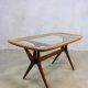 Cesare Lacca vintage design coffee table side table, vintage salontafel Cesare Lacca