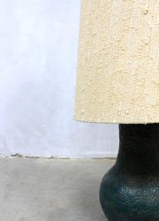 Vintage design keramische vloerlamp 'nature', vintage design ceramic floorlamp 'nature'