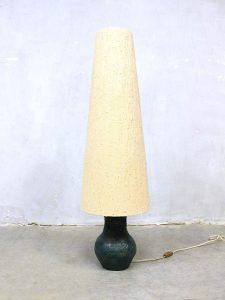 Vintage vloerlamp keramiek keramische vaas