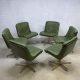 Midcentury design lounge chair office chair, Vintage bureaustoel