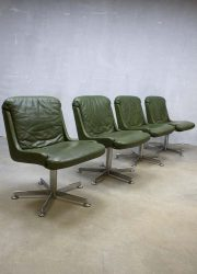 Midcentury vintage design bureaustoel lounge chair office chair