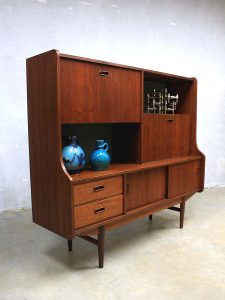 Mid century vintage design cabinet highboard dressoir wandkast
