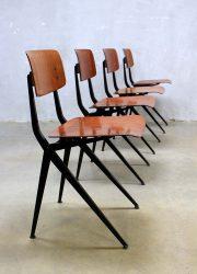 Vintage Marko chairs schoolstoelen