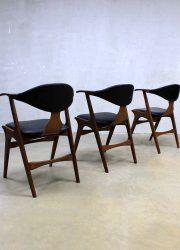 vintage design koehoorn stoel stoelen, vintage design cowhorn chair chairs