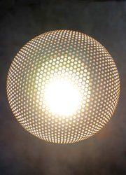 Vintage space age 'Ufo' plexiglas table lamp tafellamp