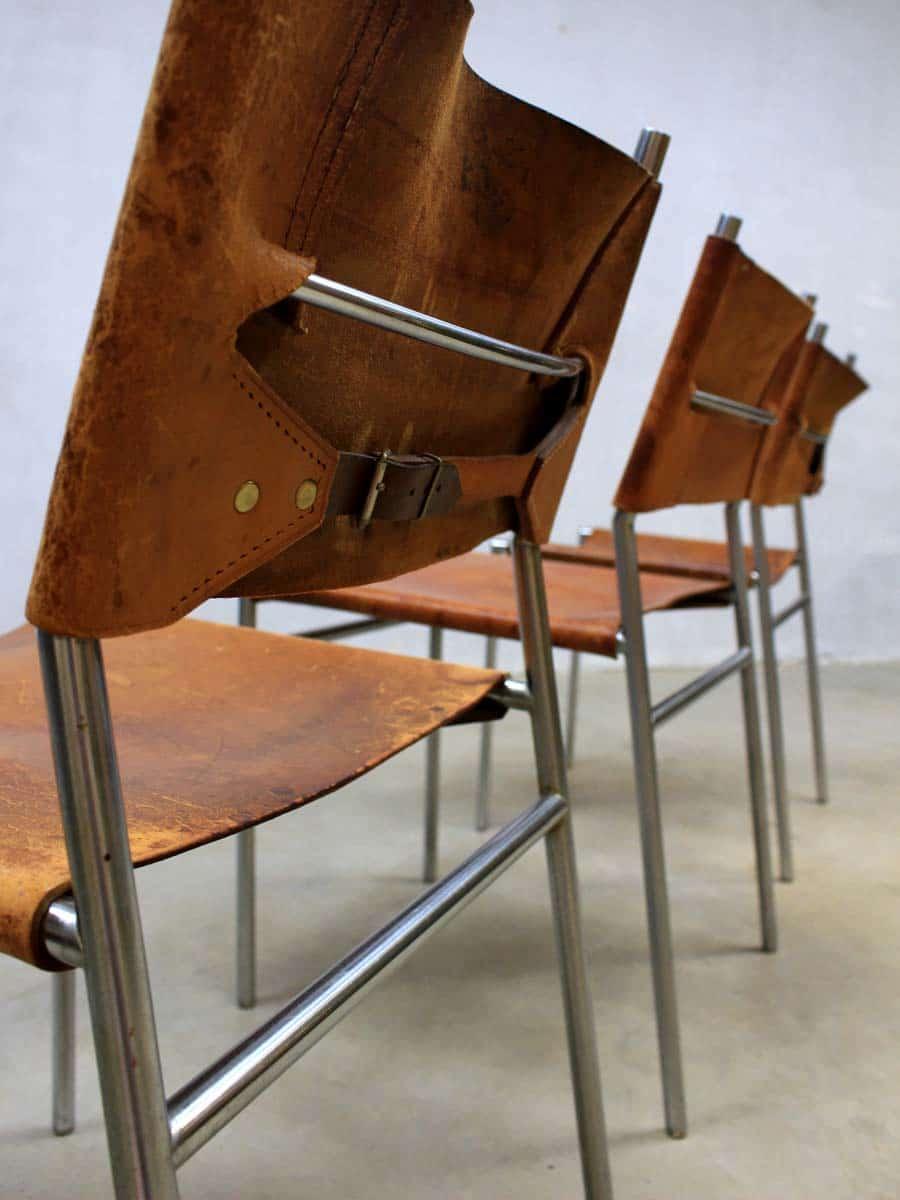 Martin Visser Eetkamerstoel.Vintage Martin Visser Dinner Chairs Spectrum Eetkamerstoelen