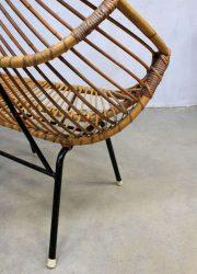 Vintage design rattan sofa Rohe Noordwolde