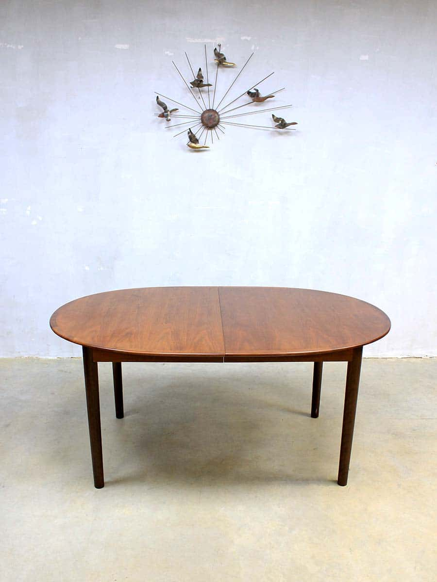 Eetkamer Tafel Uitklapbaar.Mid Century Danish Dinner Table Vintage Deense Uitklapbare Tafel Xxl