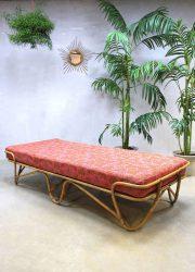Mid century rotan lounge sofa