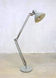 Vintage Industrial desk lamp bureau lamp XL Hala Zeist
