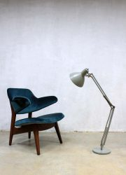 Vintage Industrial desk lamp bureau lamp XL Hala Zeist